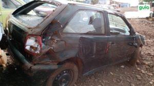Acidente em estrada vicinal de São Martinho
